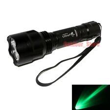 New Ultrafire C8 CREE Q5 LED 1Mode 250 Lumens 18650 Green light Flashlight Torch