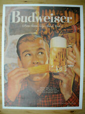 Budweiser Beer ad-Free domestic Shipping when use Buy it Now option