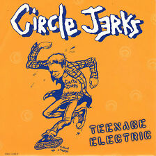 CIRCLE JERKS teenage electric / fable 45RPM 1995 PROMO ONLY Hardcore Punk