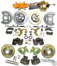 1964-68 Mustang Complete Kelsey-Hayes Style Disc Brakes