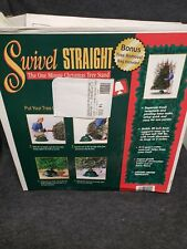 Swivel Straight The One Minute Christmas Tree Stand Green
