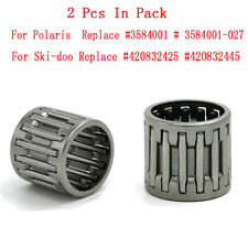 2Pcs Needle Cage Bearing For Polaris Ski-Doo IQ Shift Replaces 3552108 & 3514365