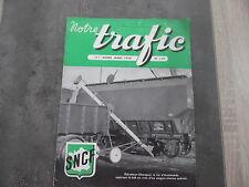 Magazine notre trafic n°110 - Mars 1954