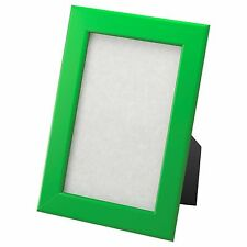 Fiskbo Picture Frame Stand or Hang Photo Display Various Colours & Sizes IKEA Green 13x18cm