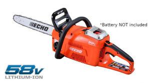 "ECHO - 58v Brushless Cordless 16"" Chainsaw -ECCS-58V- Bare Tool Only - Brand New"