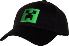 b43f58f7acc Minecraft Creeper Kids Adjustable Black Cap (age 5 - 10 Years)