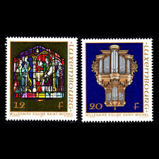 Luxembourg 1987 - 1000th Anniversary of St. Michel's Church - Sc 771/2 MNH