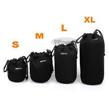 4 pcs Size XL L M S Matin Neoprene Soft Camera Lens Pouch bag Case waterproof