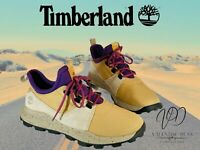 Timberland Men's Trainers Brooklyn Oxford Medium Beige Ripstop Size 8 Uk / 42 EU