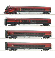 """Roco H0 64188 Wagenset """"Railjet"""" der ÖBB """"mit Italienzulassung"""" 1:87 - NEU + OVP"""