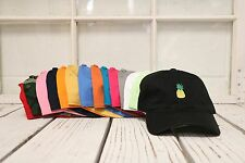 New Pineapple Baseball Cap Hat Many Colors Available