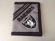 Vintage# Raiders Official Portafoglio Wallet NFL