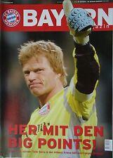 Programm 2005/06 FC Bayern München - Werder Bremen