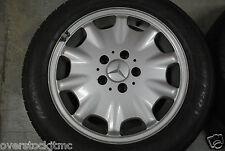 "Genuine Mercedes E320 E430 W210 16"" OEM Ronal Wheel 2104010602 Mastercraft Tire"