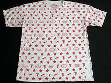 TK BAKER SKATEBOARDS Fly Society Terry Kennedy Graphic Skateboard T Shirt XL