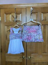 Denise Cronwall 2 Piece Tennis Outfit, Med, EUC