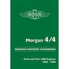 Morgan 4/4 Owners Handbook Ford and Fiat Engines 1968-1985 book paper Car