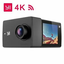 "YI Discovery 4K Action Camera 16MP WiFi 2.0"" LCD Touchscreen with 150° Wide A"