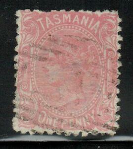 Tasmania(Australia) #53c Perf.12 1871-76 Used
