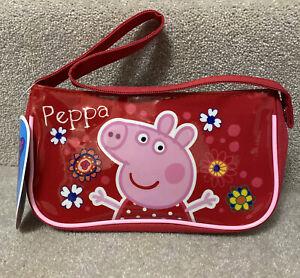 Peppa Pig Girls Pink Handbag Tropical