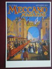 POSTCARD  MECCANO MAGAZINE COVER SEPT 1930
