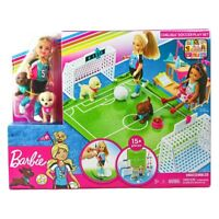 Barbie Dreamhouse Adventures 6-inch Chelsea Doll with Soccer Playset New in Box!