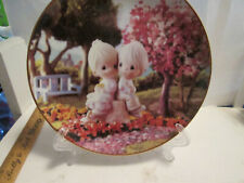 1993 Precious Moments collector plate Love One Another. No box