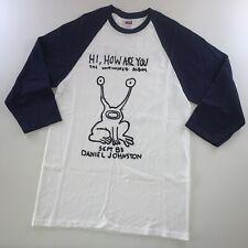 The Unfinished Daniel Johnston Men Women Long Short Sleeve Baseball T Shirt 1803