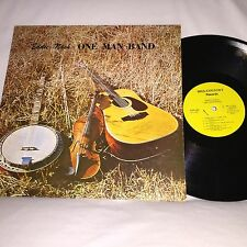 EDDIE NASH - ONE MAN BAND - VINTAGE 1981 HILL COUNTRY RECORDS LP - SIGNED COPY!