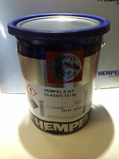 Hempel Classic Antifouling 5 Ltr BOAT  PAINT YACHT RED COATING FREE 24HR p&p