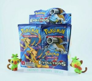 Pokemon - TCG - XY Evolutions - Booster Pack - RARE, GENUINE, FACTORY SEALED