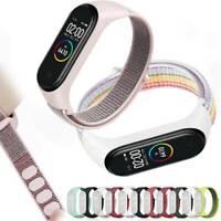 Nylon Strap replaceable Bracelet Sports Wristband Breath for Xiaomi Mi band 3 4
