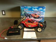 Radio Shack Red Arrow Buggy in box with instructions rc truck car working