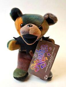 """1990's Grateful Dead Bean Bag 7"""" ST. STEPHEN Plush Bear    Birthday 9/20/70"""