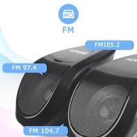 AOVEISE MT493 Motorrad Bluetooth Speaker MP3 Audio FM Radio Lautsprecher USB TF