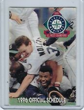 SEATLE MARINERS POCKET SCHEDULES Your Choice 1990-2005 2015 GRIFFEY EDGAR FELIX+