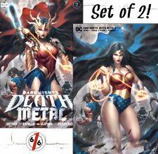 🚨💀🔥 DARK NIGHTS DEATH METAL #2 KENDRICK KUNKKA LIM Exclusive Set Ltd 1500‼️