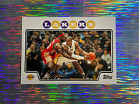 Kobe Bryant Topps 2008 #24 w/ Lebron James ✨🐍👑 Epic Card❗️Lakers HOF📈