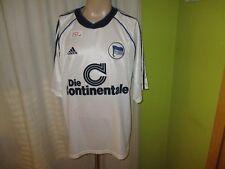 "Hertha bsc berlín adidas saliente camiseta 1998/99 ""el"" continentale talla XXL"