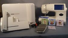 Brother Embroidery & Sewing Machine PC-8500 - 3 cards + accessries