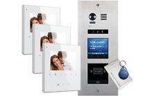 VOSPER 3 Apartments Proximity Reader AVRO Monitors