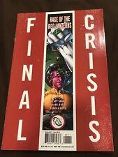 FINAL CRISIS RAGE OF THE RED LANTERNS #1 1st print DC 1st Atrocitus Johns