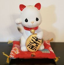 New ListingRare Precious Moments Life is Full of Golden Opportunities Waiving Cat 2006