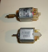 2pcs slow spinning 24 volts electric motor, BOSCH, Johnson