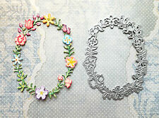 "*** ""Sizzix"" LOVELY FLORAL FRAME  - 1 Die"