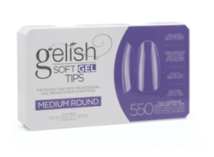 Harmony Gelish Soft Gel Tips [7 Shapes] -Box Of 550 Tips *New - Updated*