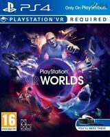 PlayStation VR Worlds PSVR PS4 * NEW SEALED PAL *