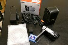 Canon Legria Fs306 Flash Media Camcorder Complete Bundle (Silver) + 16Gb Sd Card