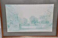 More details for glyndebourne limited edition print by sir hugh casson for 'fidelio' 1979
