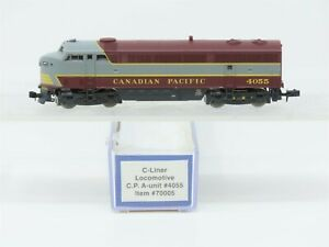 N Scale Life-Like 70005 CP Canadian Pacific C-Liner A-Unit Diesel Loco #4055